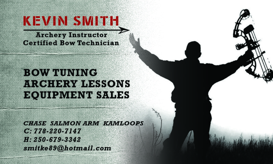 Kevin Smith Business Card Front
